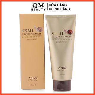 Tẩy tế bào chết Anjo Snail Skin Soft Peeling Gel 180ml chiết xuất dịch nhầy ốc sên Hàn Quốc thumbnail