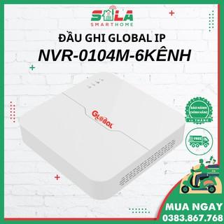 Đầu Ghi GLOBAL IP NVR - 0104M - 6 Kênh Ultra 265 thumbnail