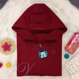 Áo khoác đỏ đô (6túi)