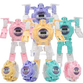 Đồng Hồ Đồ Chơi Biến Hình Robot Biến Hình Cho Bé