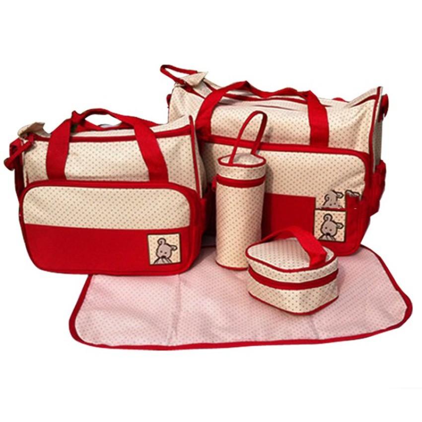 Túi đựng đồ cho mẹ và bé 5 chi tiết - 3177599 , 371393760 , 322_371393760 , 350000 , Tui-dung-do-cho-me-va-be-5-chi-tiet-322_371393760 , shopee.vn , Túi đựng đồ cho mẹ và bé 5 chi tiết