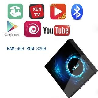 đầu thu android tivi box t95 hàng chính hãng 100%, tích hợp wifi kép + bluetooth + có cài săn ứng dụng giá rẻ bất ngờ thumbnail