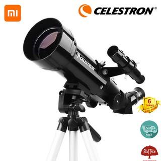 Kính thiên văn Xiaomi Celestron 70400 Kính viễn vọng có độ phóng đại cao. thumbnail