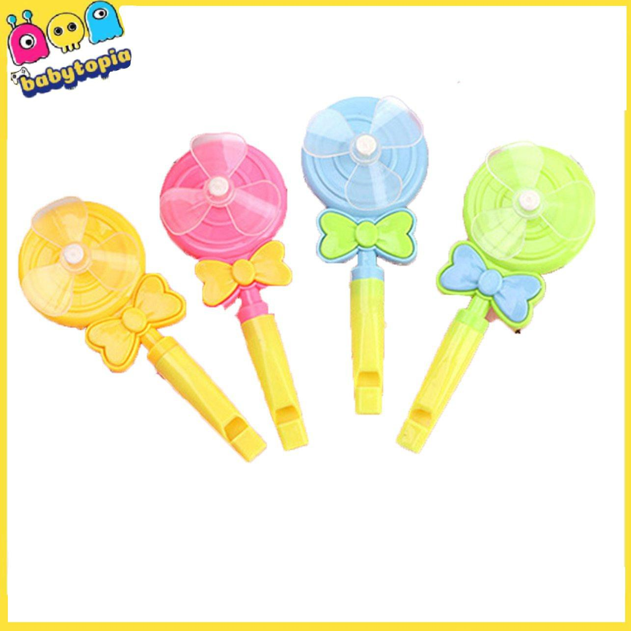 Lollipop windmill whistle windmill blowing toy children's toy small gifts kindergarten gifts children's day gifts