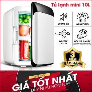 Tủ lạnh mini 10L cho xe hơi [freeship] Tủ lạnh mini gia đình