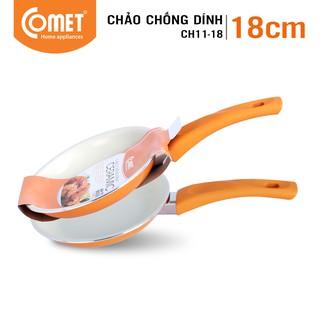 [Mã HLCOMET12 giảm 15% tối đa 50K đơn 100K] Chảo chống dính Ceramic 18cm COMET - CH11-18 thumbnail