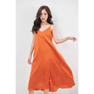 Váy 2 dây nOor vải lụa, váy ngủ kiểu dáng dài cao cấp cực xinh - Cèdre NV514 thumbnail