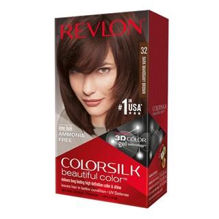Thuốc nhuộm tóc Revlon Dark Mahgany Brown 32 màu nâu đuôi ngựa - Mỹ - 130ml