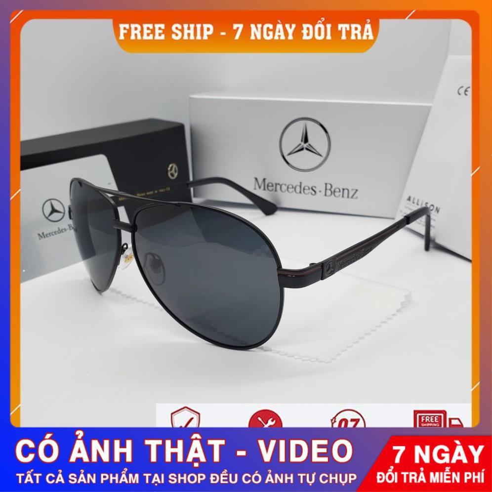 ❌CÓ VIDEO❌ Kính Mát Kính Râm Mercedes Benz Full Box Cao Cấp Thời Trang, Hoang Dã Cổ Điển, Chống Tia...