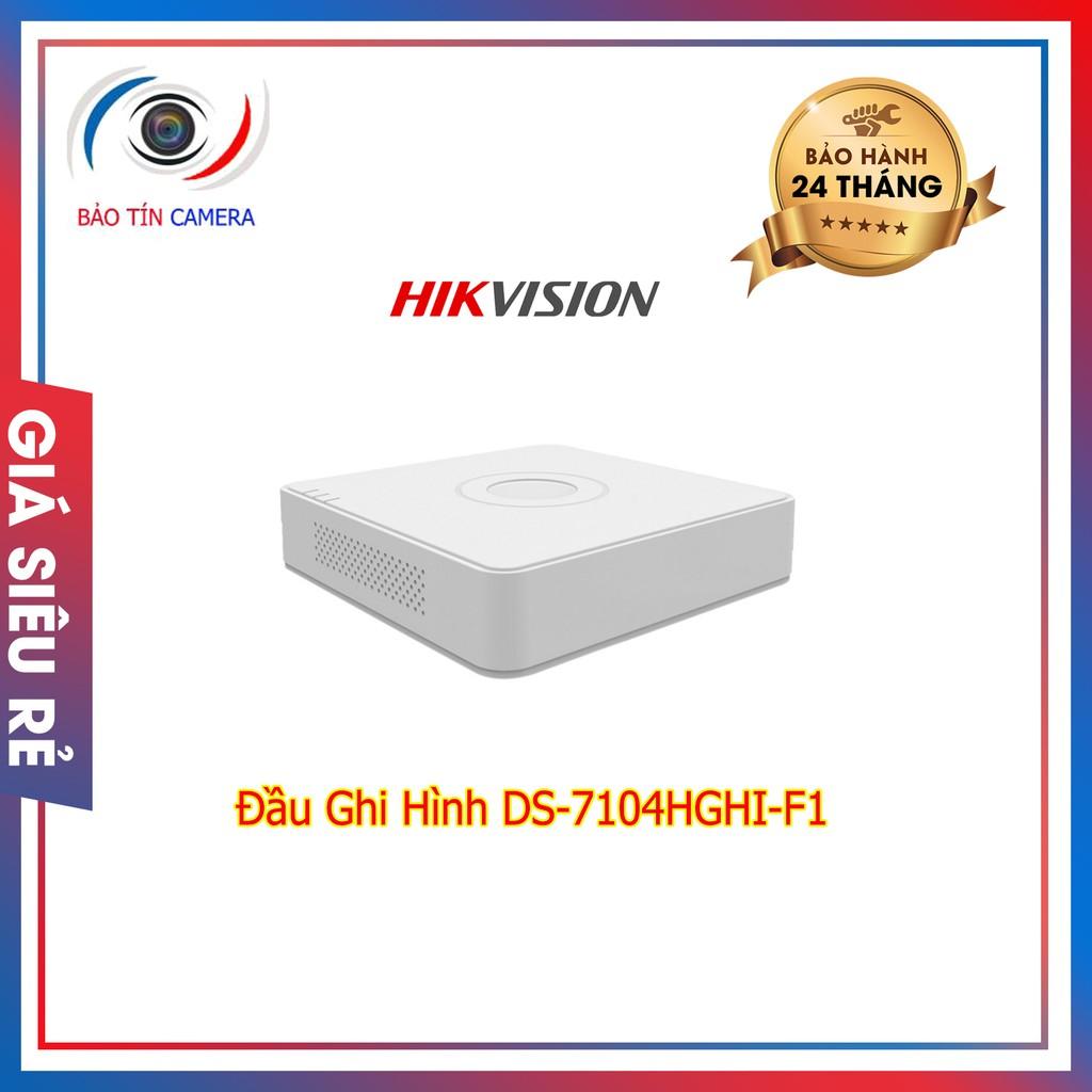 Đầu ghi hình DS-710xHGHI-F1/N 4 kênh 8 kênh 16 kênh chính hãng bảo hành 24 tháng