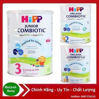 [Mã MKBCS01 hoàn 8% xu đơn 250K] [Thu Nắp] Sữa Hipp Đủ Só 1,2,3,4 Combiotic Hộp 350g 800g ( Date 2022 ) thumbnail