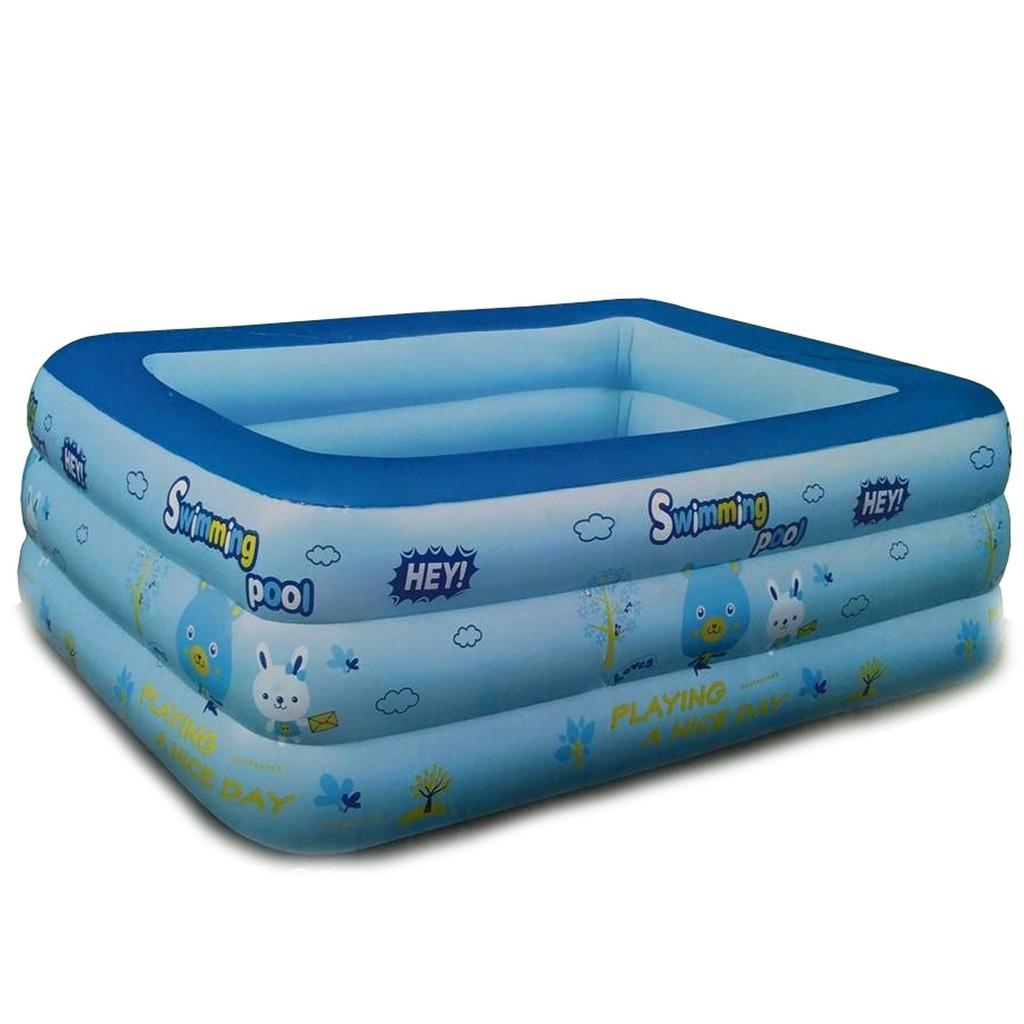 Bể bơi 3 tầng 2 m 1 tặng kèm bơm điện