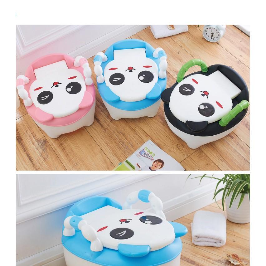 Bô Panda cho bé 3 màu (xanh, hồng, đen)