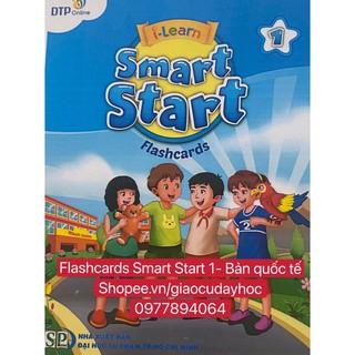 Flashcards  Smart Start Level 1- Bản quốc tế -ép plastics dầy đẹp