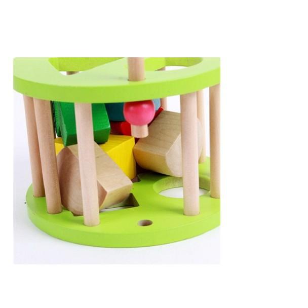 [ HOT DEAL ] Xe vịt thả hình - Đồ chơi giáo dục an toàn cho bé