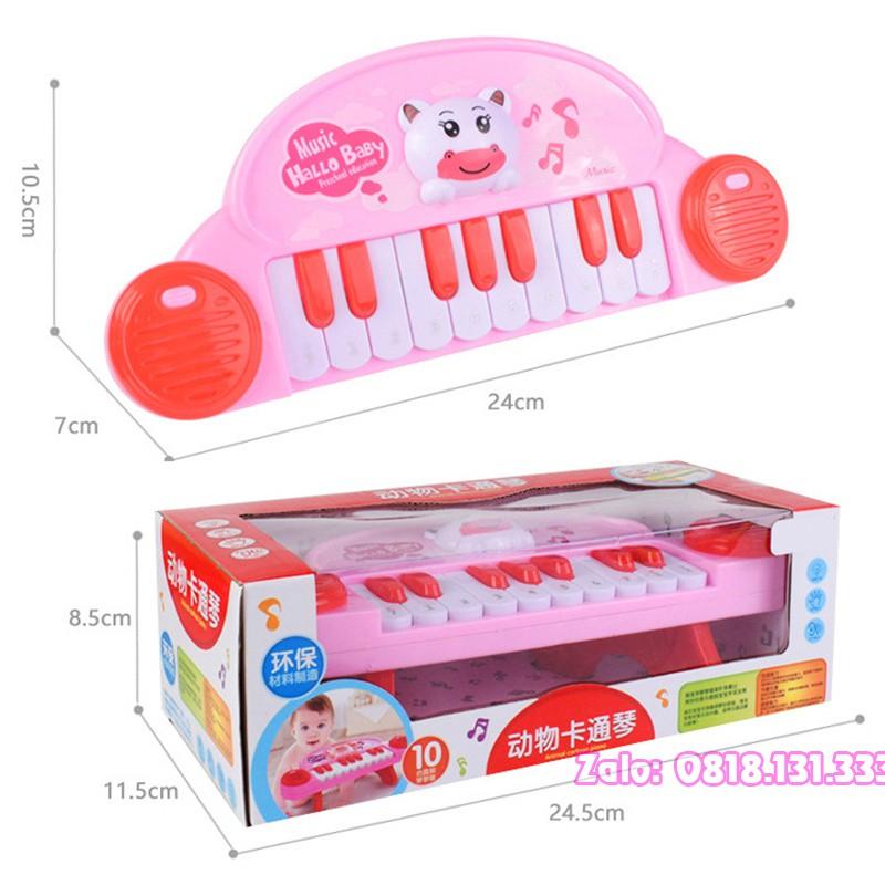 Đàn đồ chơi cho bé hình gấu đủ nốt đóng hộp đẹp