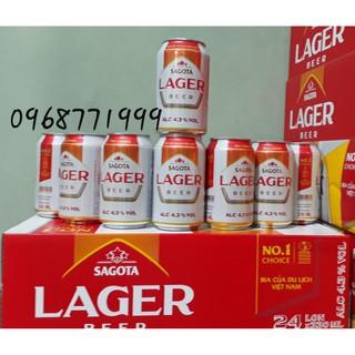 Bia Lager Sagota