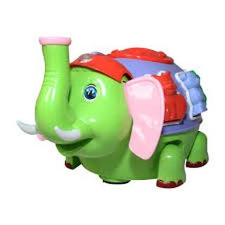 Đồ chơi voi thổi bong bóng có đèn nhạc (có video)