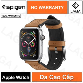 [Mã ELMS5 giảm 7% đơn 300K] Dây Đeo Apple Watch Size 38mm / 40mm / 42mm / 44mm Spigen Watch Band Retro Fit