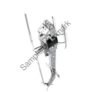 Đồ chơi mô hình lắp ghép 3D – Máy bay huey helicopter | HÀNG MỚI