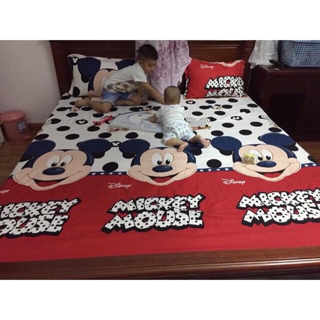 Ga Mickey 1,6m . Bộ 3 món