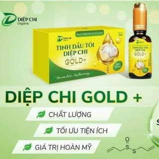 Diệp Chi Dầu Tỏi Gold Organic