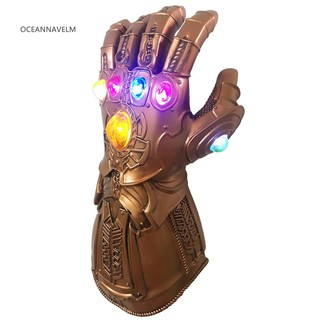Găng Tay Có Đèn Led Hoá Trang Nhân Vật Thanos