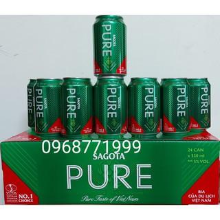 Bia cao cấp Sagota Pure