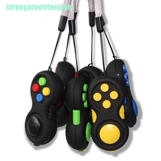 【stj】Game Pad Stress Reliever Squeeze Fun Magic Desk Toy Handle Toys Puzzles