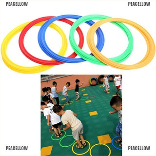 PEACELLOW Kids Hopscotch Jump to the Grid Outdoor Play Training Toys Preschool Sports Toy