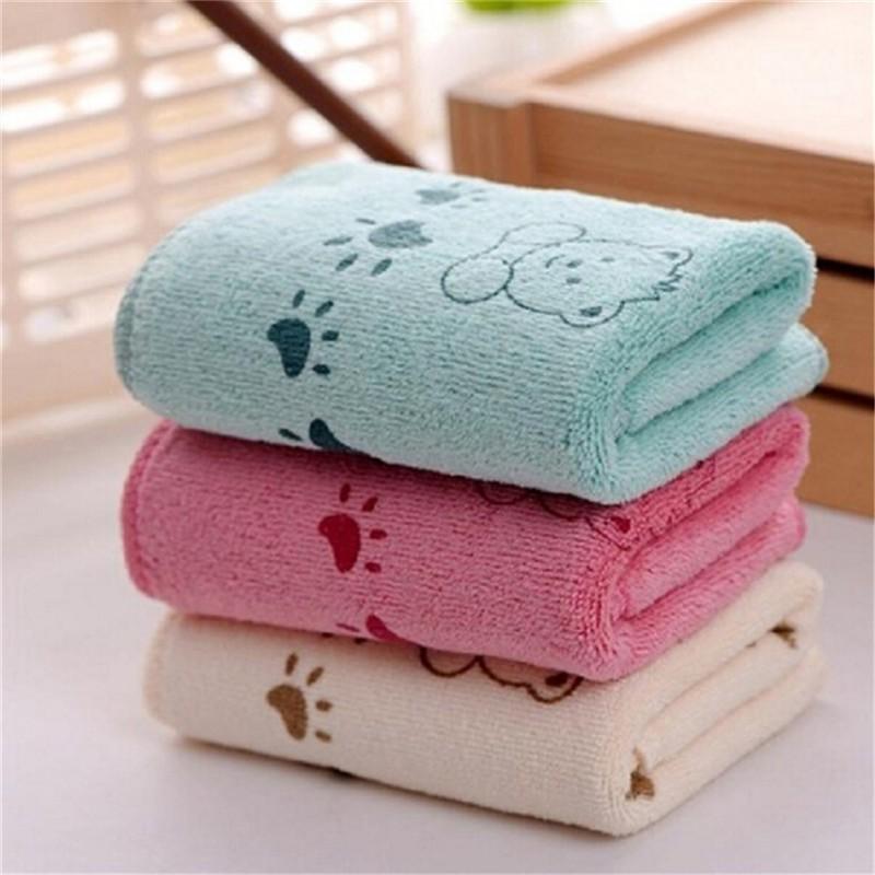 [@VN] 5Pcs Cute Bear Baby Infant Bath Towel 25*50cm Kids Washcloth Towel