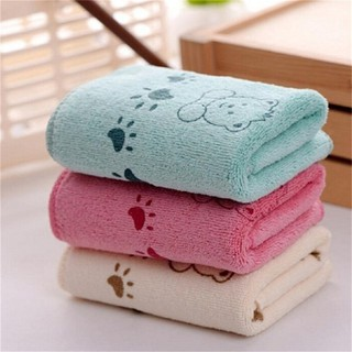 [@VN] 5Pcs Cute Bear Baby Infant Bath Towel 25*50cm Kids Washcloth Towel
