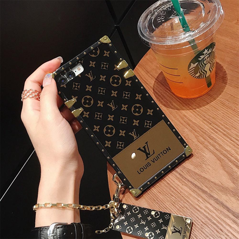 pc fashion smooth mini golden mirror hard vivo case