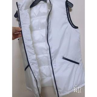 Áo gile trắng