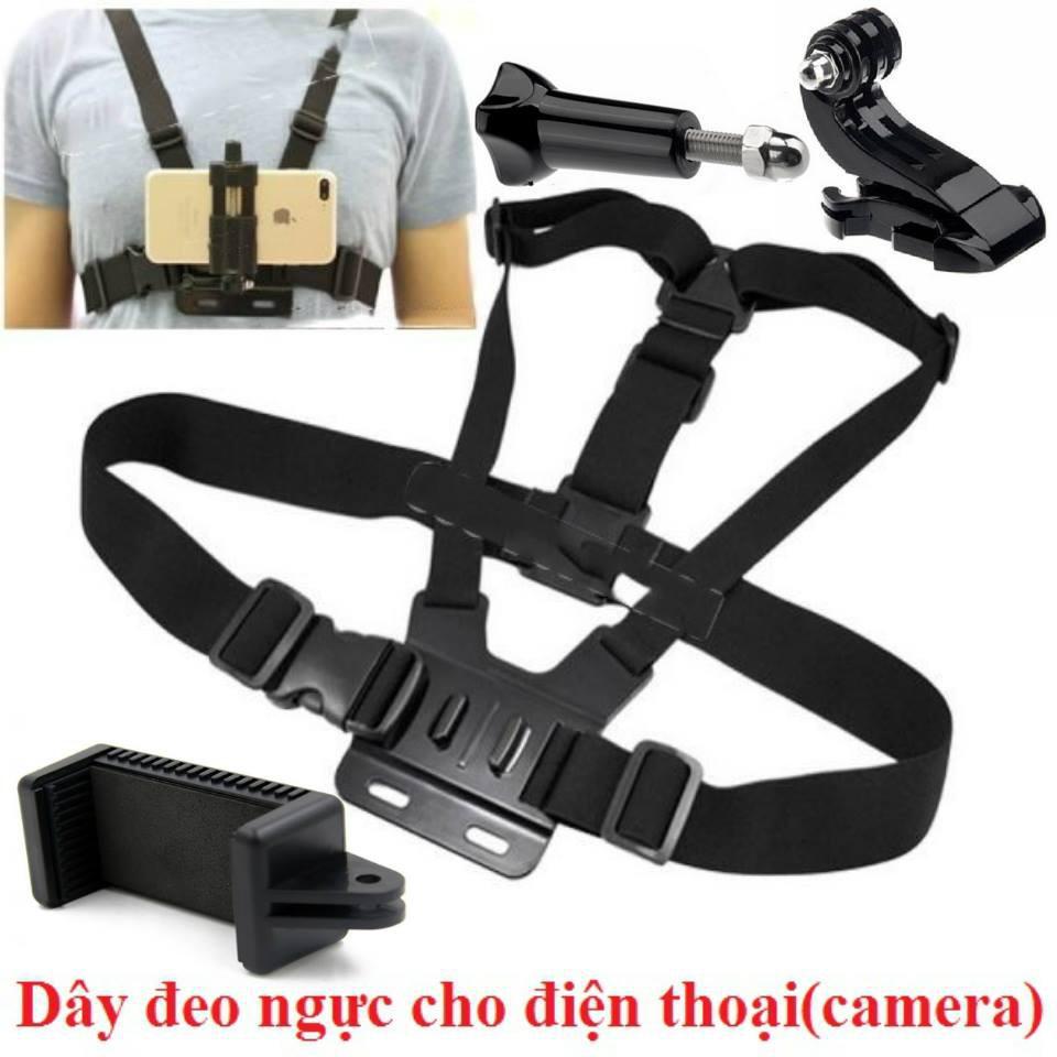 dây đeo ngực cho điện thoại ,camera hành trình