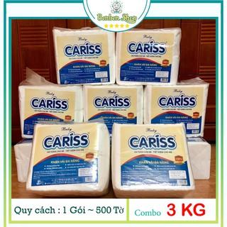Khăn Vải Khô Đa Năng Baby Caríss ( 6 Gói – 3 KG )