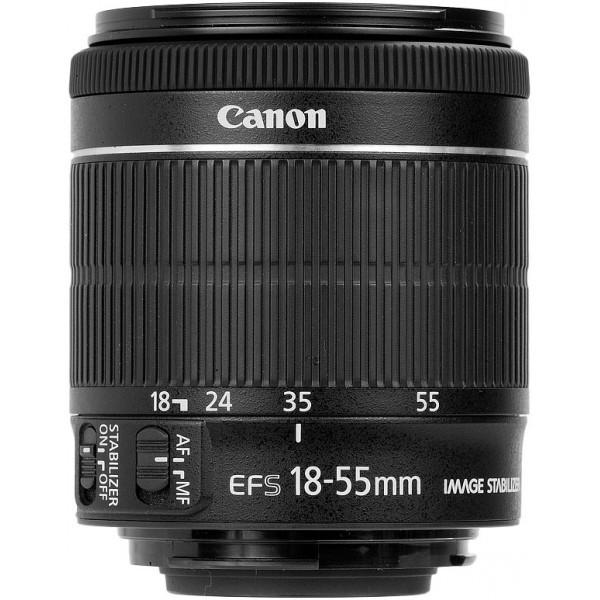 Ống kính Canon EF-S 18-55mm f/3.5-5.6 IS STM - Hàng tách máy- Hàng Canon Lê Bảo Minh