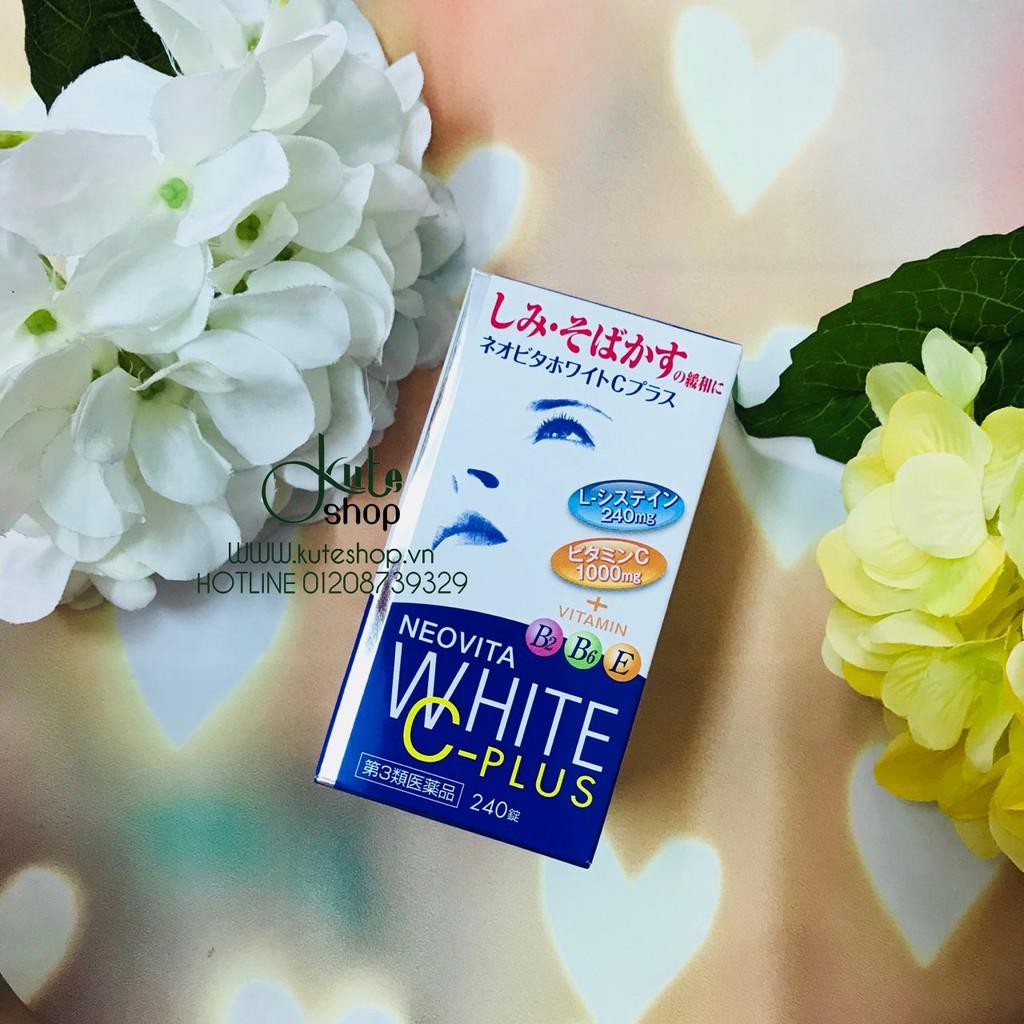 Viên uống trắng da NeoVita White C-Plus B2 B6 E hủ 240 viên (mẫu mới nhất) - 2828099 , 98534131 , 322_98534131 , 320000 , Vien-uong-trang-da-NeoVita-White-C-Plus-B2-B6-E-hu-240-vien-mau-moi-nhat-322_98534131 , shopee.vn , Viên uống trắng da NeoVita White C-Plus B2 B6 E hủ 240 viên (mẫu mới nhất)