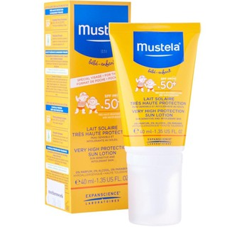 Mustela – Kem Chống Nắng Very High Protection Sun Lotion.