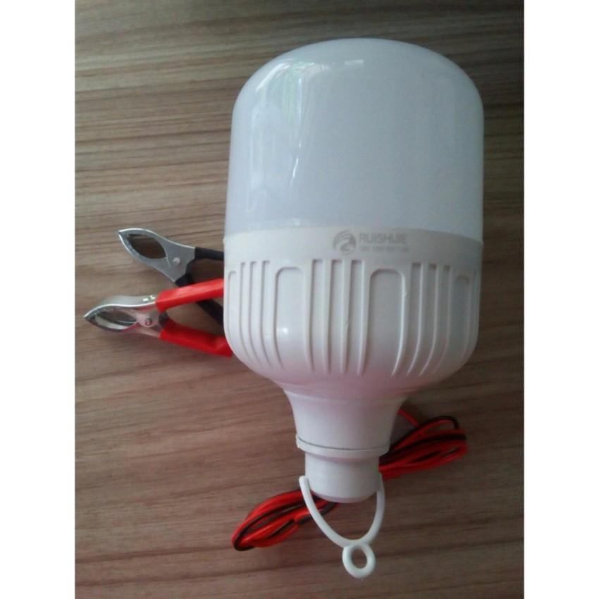 Bóng đèn LED kẹp bình ắc quy 15W-12V
