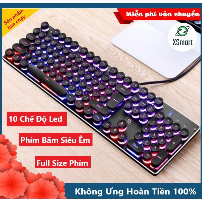 Bàn Phím Chuyên Game K100 CAO CẤP Siêu đẹp, Siêu êm sánh ngang bàn phím Cơ máy tính