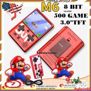 Máy chơi game sup 500 trò chơi - dòng M6 - 8BIT -màn hình kích thước 3 TFT thumbnail