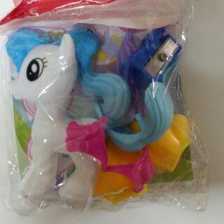 Ngựa pony cho bé yêu.(trắng)