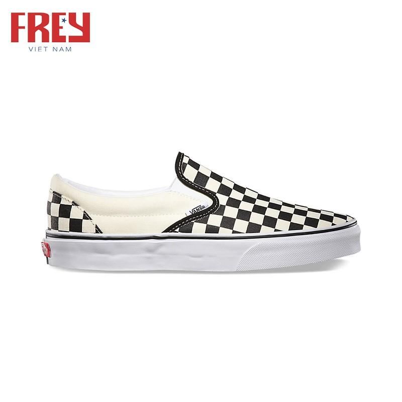Giày sneakers Vans Classic Slip On Black&White VN000EYEBWW
