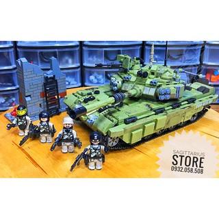 Lego Lắp Ráp Xe Tăng Tiger XingBao-06015 ( 1386 Miếng )