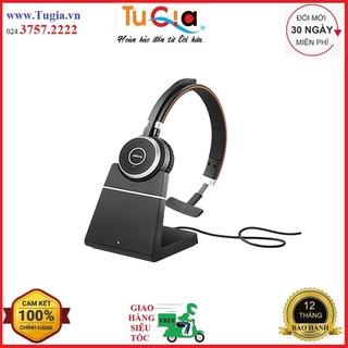 Tai nghe không dây Jabra Evolve 65 incl charging stand UC Stereo-Hàng chính hãng