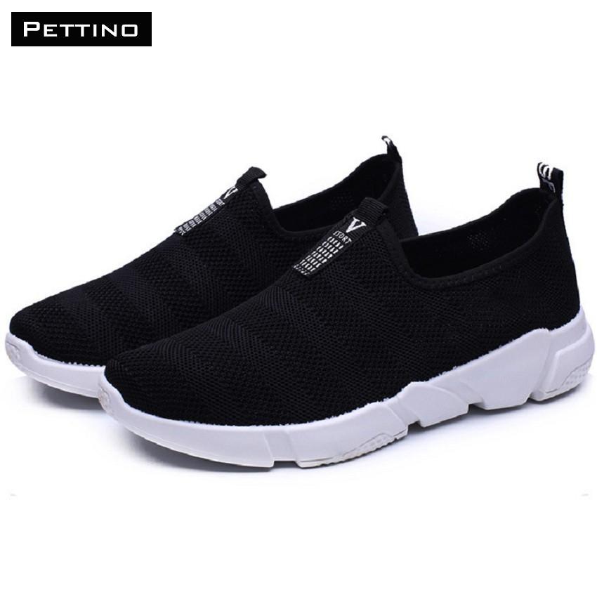 Giày Lười Nam Dáng Thể Thao PETTINO GL20  Đen