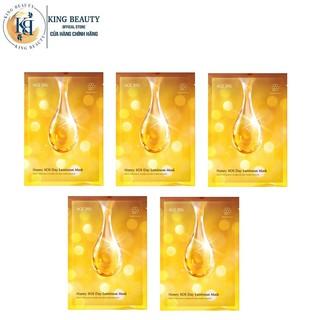 Combo 5 Mặt Nạ Dưỡng Da Mật Ong Chuyên Sâu, Làm Mờ Đốm Nâu, Vết Thâm AGE20 s Honey SOS Day Luminous Mask 30g x 5 thumbnail