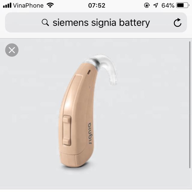 Máy trợ thính SIEMENS FUN P