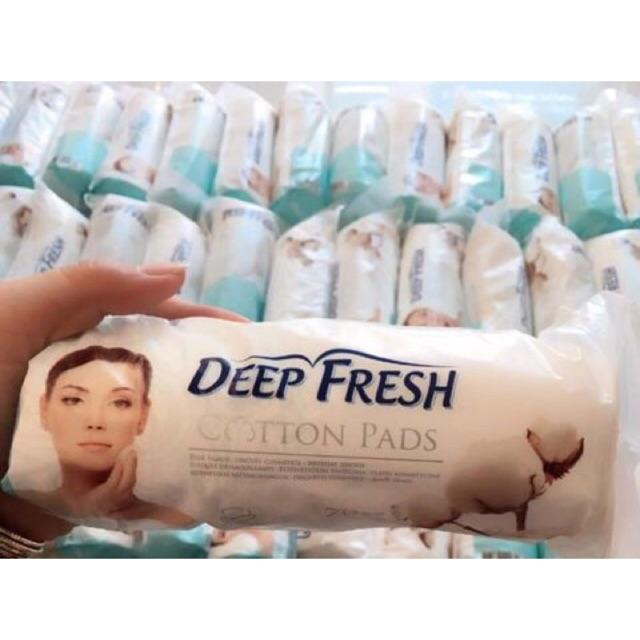 Bông tẩy trang Deep Fresh Cotton Pads siêu mềm 100 miếng - 2608751 , 762965876 , 322_762965876 , 45000 , Bong-tay-trang-Deep-Fresh-Cotton-Pads-sieu-mem-100-mieng-322_762965876 , shopee.vn , Bông tẩy trang Deep Fresh Cotton Pads siêu mềm 100 miếng